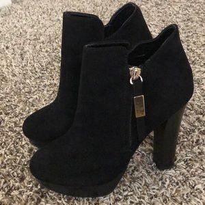 Aldo Ankle High Heel Boots